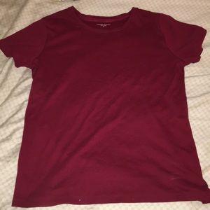 Laura Scott Maroon T Shirt